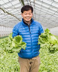 須賀農園園主・須賀眞次の写真